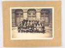 Photographie originale Classe de 4e A1 Lycée de Bordeaux Année Scolaire 1922-1923 :  Professeur principal Mr Caraman. Elèves : Bannel, Tarraube, ...