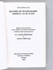 History of Pondicherry Mission : An Outline. The MEP Mission in Inda (1777-). LAFRENEZ, Jean ; (SAMPATHKUMAR, P.A. ; CAROF, André)