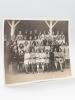 Photographie de la 3ème Classe, Ecole Publique de Fille, Cours de la Somme, à Bordeaux, Année 1933. LEFEBVRE, F.