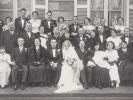 Photographie de Mariage (Groupe) de Monsieur Lucien Lanaverre, 2 Février 1935, Villa Grisélidis. Aris FOREST