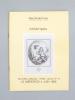 (Lot de 16 catalogues d'Estampes, Maison Ader Picard Tajan, de 1979 à 1989) : Estampes, vendredi 15 juin 1979 ; jeudi 21 février 1980 ; mercredi 29 ...