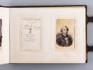 Deux albums photos. Famille Aussignac [Bordeaux - vers 1860 - 1870 ]. Collectif