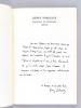 Henry Bordeaux. Exposition du Centenaire [ On joint une Lettre autographe signée d'Henry Bordeaux ]. Collectif ; Institut de France ; Académie ...