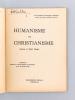 Humanisme et christianisme. Ausone et Saint Paulin. Conférence donée au Grand-Théâtre de Bordeaux le 19 novembre 1953. BLANCHET, Mgr.