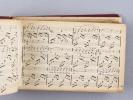 Recueil manuscrit de partitions musicales [ Plus de 130 morceaux chantés ] Chanson arabe (Godard) ; O Gué Landériloulette ; Coupe du Roi de Thulé ...