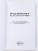 Précis de Didactique. Devenir professeur de langue. NARCY-COMBES, Marie-Françoise