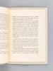 Cézanne Exposition 1936 [ Edition originale - Livre dédicacé par l'auteur ]. SEJALON, Joseph