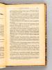 Mélanges de travaux sur l'Islam, rédigés de 1930 à 1935. Généralités et Statut Personnel - Islam contemporain - Traductions [ Contient : ] 1 : ...