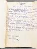 Mélanges de travaux sur le Droit Coutumier Nord Africain [ Contient : ] 1 : Le Droit Coutumier des Berbères ; 2 : Islamic Law and Customary Law in ...