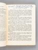 L'Islam Maghrébin. Introduction à l'Etude Générale de l'Islâm [ Exemplaire enrichi des corrections autographes de l'auteur ]. BOUSQUET, Georges-H.