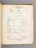 La Fiancée, opéra-comique en trois actes, musique de D. F. E. Auber, avec accompagnement de piano. AUBER, D.F.E.