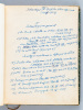 Recueil de 48 articles et traductions rédigés par le professeur Georges H. Bousquet sur le thème de l'Islamologie et les Questions Nord Africaines ...