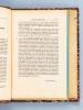 Recueil de 14 articles rédigés par le professeur Georges H. Bousquet sur le thème de l'Islam (1936-1938) [ Contient : ]  A : Islam nord-africain et ...
