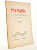 Studiti Francesi , rivista quadrimestrale dedicata alla cultura e civilta letteraria della Francia [ lot de 5 index annuels 1957-1961 ]  : Indice ...