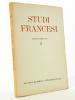 Studiti Francesi  (rivista quadrimestrale dedicata alla cultura e civilta letteraria della Francia) N° 2 , maggio - agosto 1957. Studiti Francesi ; ...