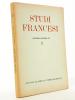 Studiti Francesi  (rivista quadrimestrale dedicata alla cultura e civilta letteraria della Francia) N° 3 , settembre - dicembre 1957. Studiti Francesi ...
