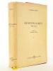 Vilfredo Pareto : Epistolario 1890-1923. A cura di Giovanni Busino (Vol. I). PARETO, Vilfredo ; BUSINO, Giovanni