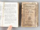 Calendrier de la Cour Impériale de Bordeaux, pour l'Année Commune 1812 [ On joint : ] Calendrier administratif, Judiciaire et de Commerce du ...
