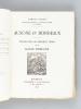 Ausone et Bordeaux. Etudes sur les derniers temps de la Gaule Romaine [ Edition originale - Livre dédicacé par l'auteur ]. JULLIAN, Camille