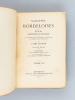 Variétés Bordeloises (4 Tomes - Complet) Variétés Bordeloises ou Essai historique et critique sur la Topographie ancienne et moderne du diocèse de ...