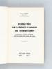 L'Industrie dans la Généralité de Bordeaux sous l'Intendant Tourny [ Edition originale ] Contribution à l'étude de la Décadence du Système Corporatif ...