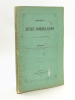 Historique des Fêtes bordelaises [ Edition originale ]. PELLEPORT, Vicomte Ch. de