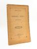 Les Corporations à Bordeaux. Pintiers et Estainguiers [ Edition originale - Livre dédicacé par l'auteur ]. GAULLIEUR, Ernest