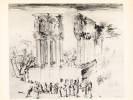 Bordeaux. Porte ouverte sur le monde. Dessins de Charazac, Jean Sauboa, Théron, G. Libet et Dominique Piéchaud.. CHARAZAC ; SAUBOA, Jean ; THERON ; ...