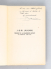 J.B.-M. Lacombe Présidence de la Commission militaire. La Révolution à Bordeaux. [Edition originale - Livre dédicacé par l'auteur ]. BECAMPS, Pierre