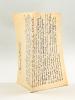 Les Nouvelles Paroisses du XIXe et du XXe siècles [ à Bordeaux ] [ Manuscrit autographe daté du 1er janvier 1950 ]. NICOLAI, Alexandre