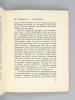 De Bordeaux à Stockholm. François Mauriac, de l'Académie Française Prix Nobel 1952 [ Edition originale ] [ L'Académie Nationale des Sciences, ...