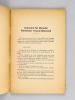 Armistices de Juin 1940. Comment ils furent amorcés et conclus. Texte intégral des conditions de l'Armistice Franco-Allemand et de l'Armistice ...