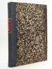 Petite Gazette des Tribunaux criminels et correctionnels de l'Alsace. Premiere Année - Deuxième Année - Troisième Année 1859 - 1860 - 1861 (3 Années ...