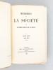 Mémoires de la Société des Antiquaires de l'Ouest. Tome XXIX Année 1864 [ Edition originale ] [ Contient : ] Epoques antéhistoriques du Poitou ou ...