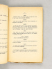 L'Armistice en Alsace (11 novembre 1918) Opérette en 3 actes pour jeunes filles. MILLY-CLERET, L.
