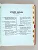 Les Livres de l'Année 1964. La Librairie Française. Catalogue Général des ouvrages parus du 1er janvier 1964 au 1er janvier 1965. Collectif