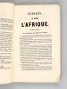 Extraits du Journal l'Afrique [ Edition originale ] Réunion à la France - Institutions civiles. PEUT, Hippolyte