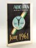 Programme des Jeux d'Abidjan du 24 au 31 décembre 1961. Collectif