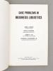 Case problems in business logistics. HESKETT, James L. ; SCHNEIDER, Lewis M. ; IVIE, Robert M. ; GLASKOWSKY Jr., Nicholas A.