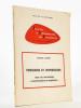 Pressions et oppressions : Essai de bio-écologie, environnement et adaptation (Traveaux et documents) [ Exemplaire dédicacé ]. CLARET, Jacques