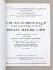 Ventes aux enchères publiques, collections particulières du Sud-Ouest, dont Doktor M. S., Samedi 27 avril 2013. Dessins et tableaux anciens, arts ...