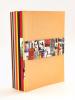 Lot de 10 catalogues de la Librairie Emmanuel Hutin de 2005 à 2014 [ Contient : ] Catalogue V. 2005 : De la bibliothèque de Bona et André Pieyre de ...