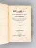 Nivellement général du Département du Cher, par P.-A. Bourdaloue. Deuxième Volume. Juin 1852 [ Edition originale ]. BOURDALOUE, P.-A.