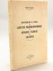 Contribution à l'étude de la l'activité pharmacodynamique de quelques essences de Labiacées.. CAZAL, Roger