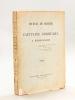 Journal de Marche du Capitaine Corhumel à Madagascar. 1895 [ Edition originale ]. CORHUMEL, Capitaine