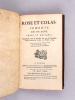 Rose et Colas, Comédie en un Acte, Prose et Musique, Représentée pour la première fois par les Comédiens Italiens ordinaires du Roi, le 8 Mars 1764 [ ...