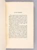 Guilbert de Pixerécourt. Sa vie, son mélodrame, sa technique et son influence [ Edition originale - Livre dédicacé par l'auteur ]. HARTOG, Willie G.