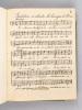 Manuscrit musical religieux, rédigé par un prisonnier français au Camp de Tauberbischofsheim (Baden), Allemagne Novembre 1916 - Octobre 1917. ...