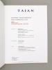 Art d'Orient, Tableaux orientalistes [ Lot de 2 catalogues, année 2005 ] Paris, Espace Tajan, Mercredi 11 mai 2005 ; Jeudi 24 novembre 2005. Etude ...
