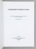 A Biodiversity Review of China. Word Wide Fund for Nature International - WWF ; CAREY, Geoff (édit.)